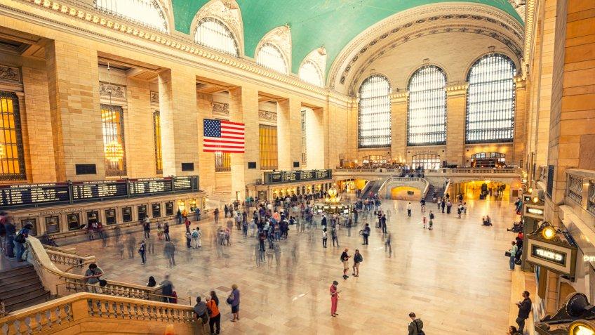 Grand Central Terminal, New York City, USA.