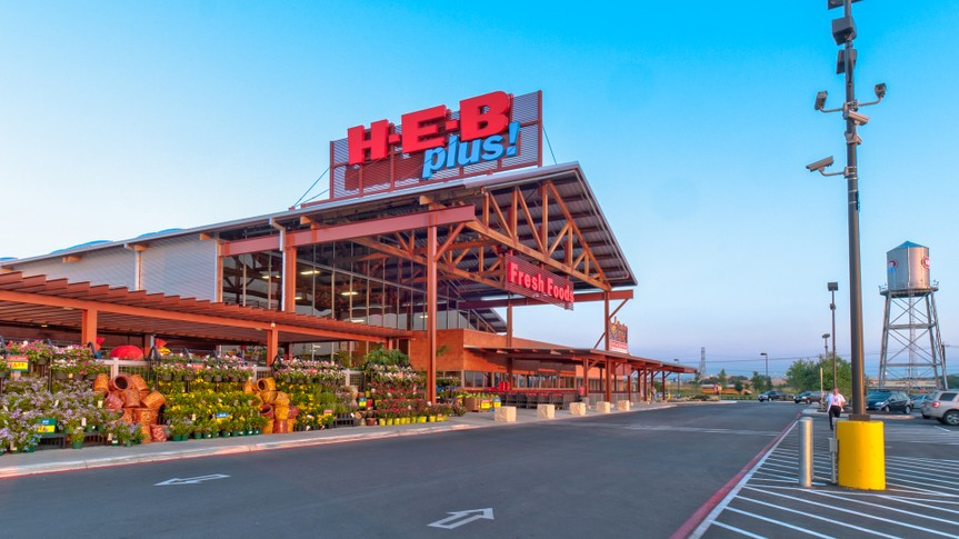 H-E-B Plus supermarket chain