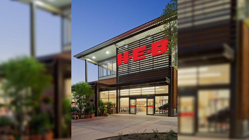 H-E-B supermarket chain