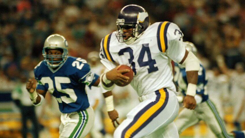 Herschel Walker Minnesota Vikings highest paid athlete