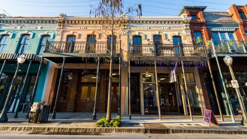 Historic Downtown Mobile, Alabama
