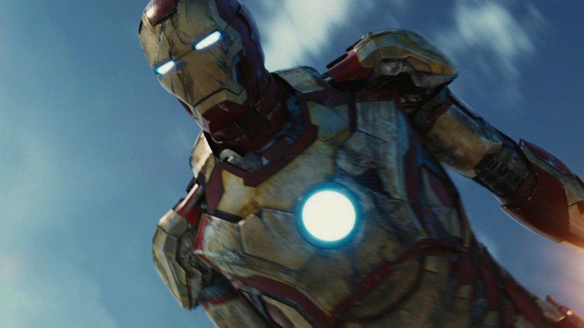 Iron Man 3 blockbuster movie