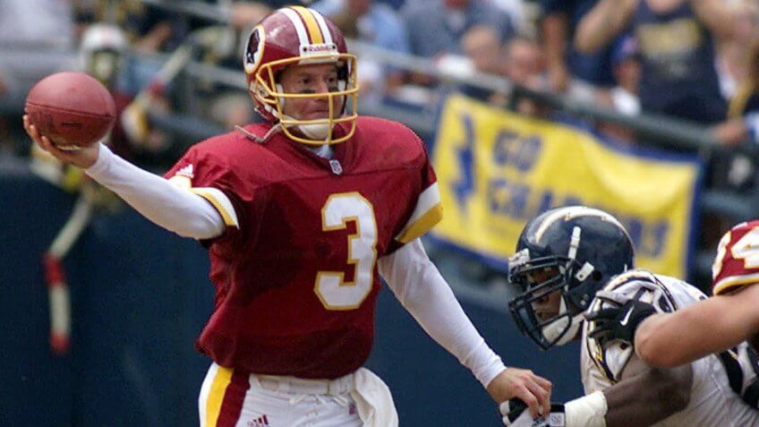 Jeff George overpaid NFL player