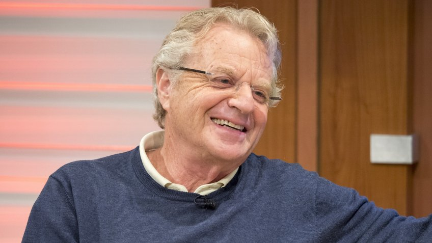 Jerry Springer campaign donation