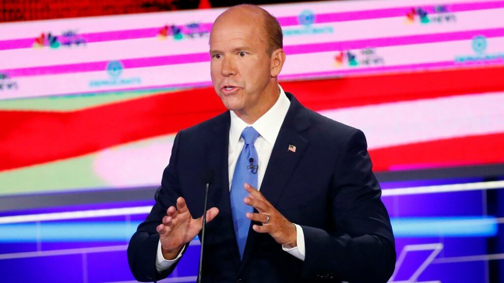 Mandatory Credit: Photo by Wilfredo Lee/AP/Shutterstock (10321961ai) Democratic presidential candidate former Rep.