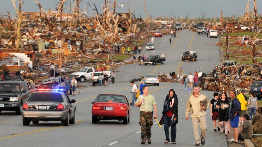 Joplin Missouri tornado aftermath