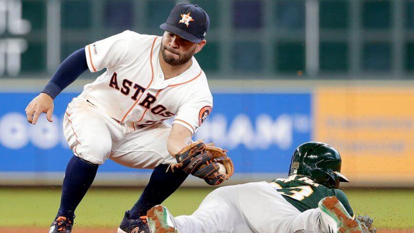 Jose Altuve baseball player