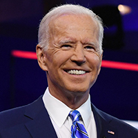 ALL NEW YORK DAILIES OUTMandatory Credit: Photo by Larry Marano/Shutterstock (10323445az)Joe BidenFirst Democratic Presidential Debate, Miami, USA - 27 Jun 2019.