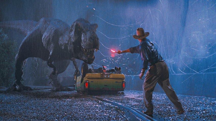Jurassic Park blockbuster movie