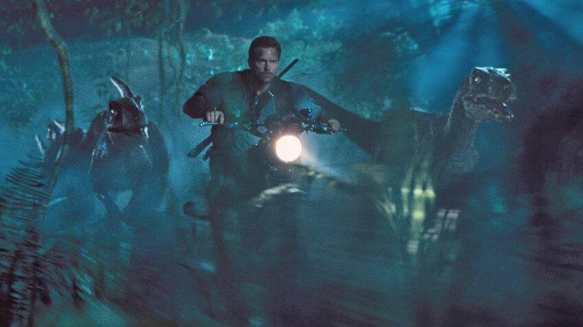 Jurassic World blockbuster movie