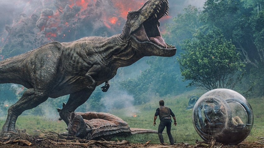 Jurassic World blockbuster movie