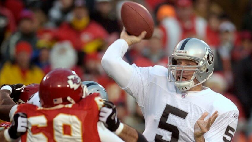 Kerry Collins overpaid NFL player