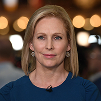ALL NEW YORK DAILIES OUTMandatory Credit: Photo by Larry Marano/Shutterstock (10323445bi)Senator Kirsten GillibrandFirst Democratic Presidential Debate, Miami, USA - 27 Jun 2019.