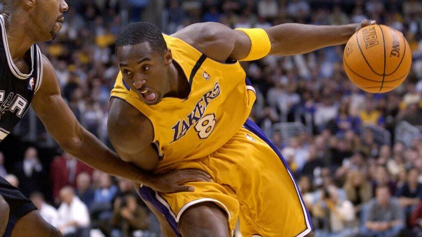 Kobe Bryant basketball player net worth