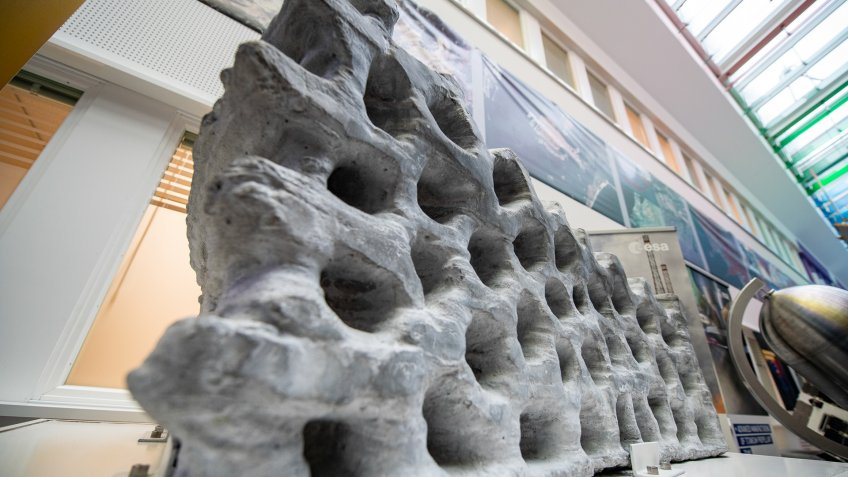 lunar buildin block from European Space Agency