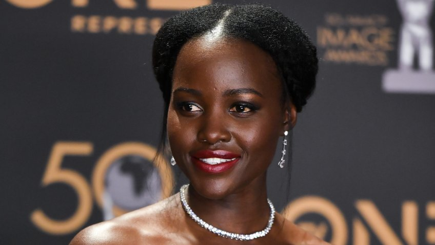 Mandatory Credit: Photo by Rob Latour/Shutterstock (10181039dl)Lupita Nyong'o50th Annual NAACP Image Awards, Press Room, Dolby Theatre, Los Angeles, USA - 30 Mar 2019.