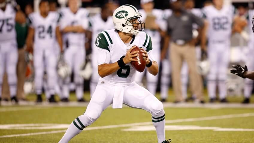 Mark Sanchez overpaid NFL player