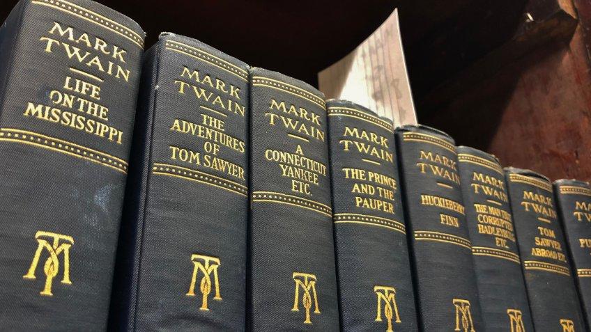 Mark Twain collection books