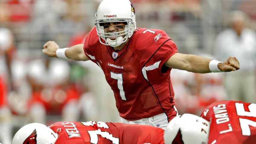 Matt Leinart overpaid NFL player