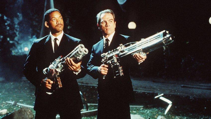 Men in Black blockbuster movie