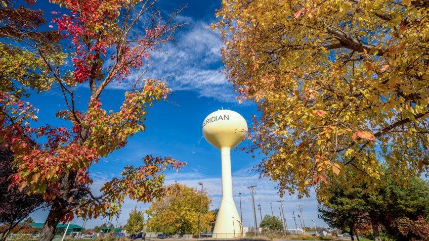 Meridian, ID, USA - October 23, 2016:Meridian Idaho.