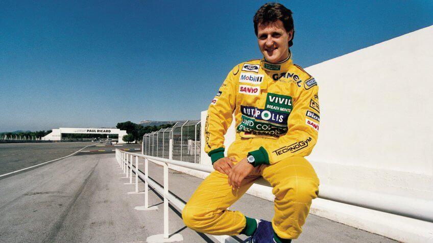 Michael Schumacher race car driver net worth