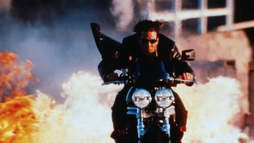 Mission Impossible 2 blockbuster movie