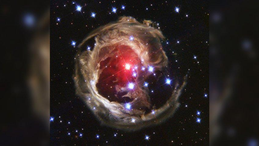 Monocerotis star from Hubble Telescope