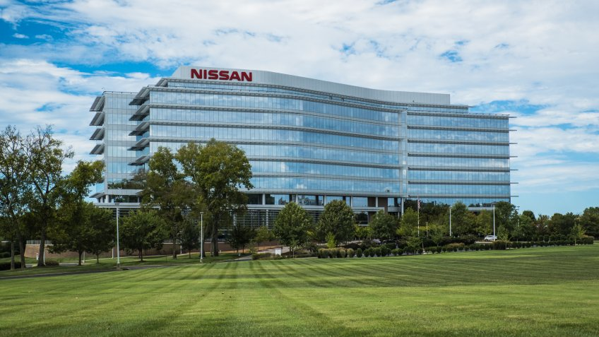 Nissan's North American Headquarters in Franklin, TN.