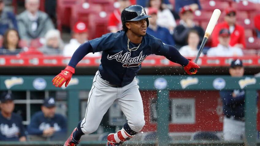 Ozzie Albies Atlanta Braves highest paid athlete