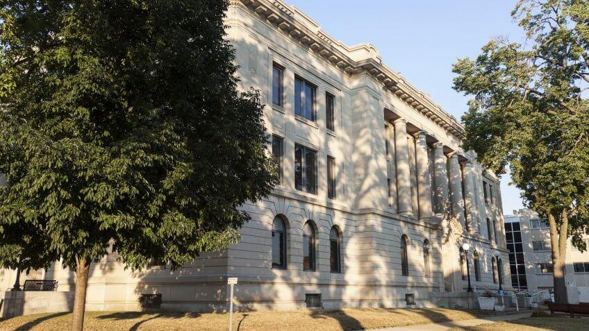 Pekin Illinois courthouse