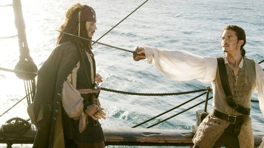 Pirates of the Caribbean: Dead Man's Chest blockbuster movie