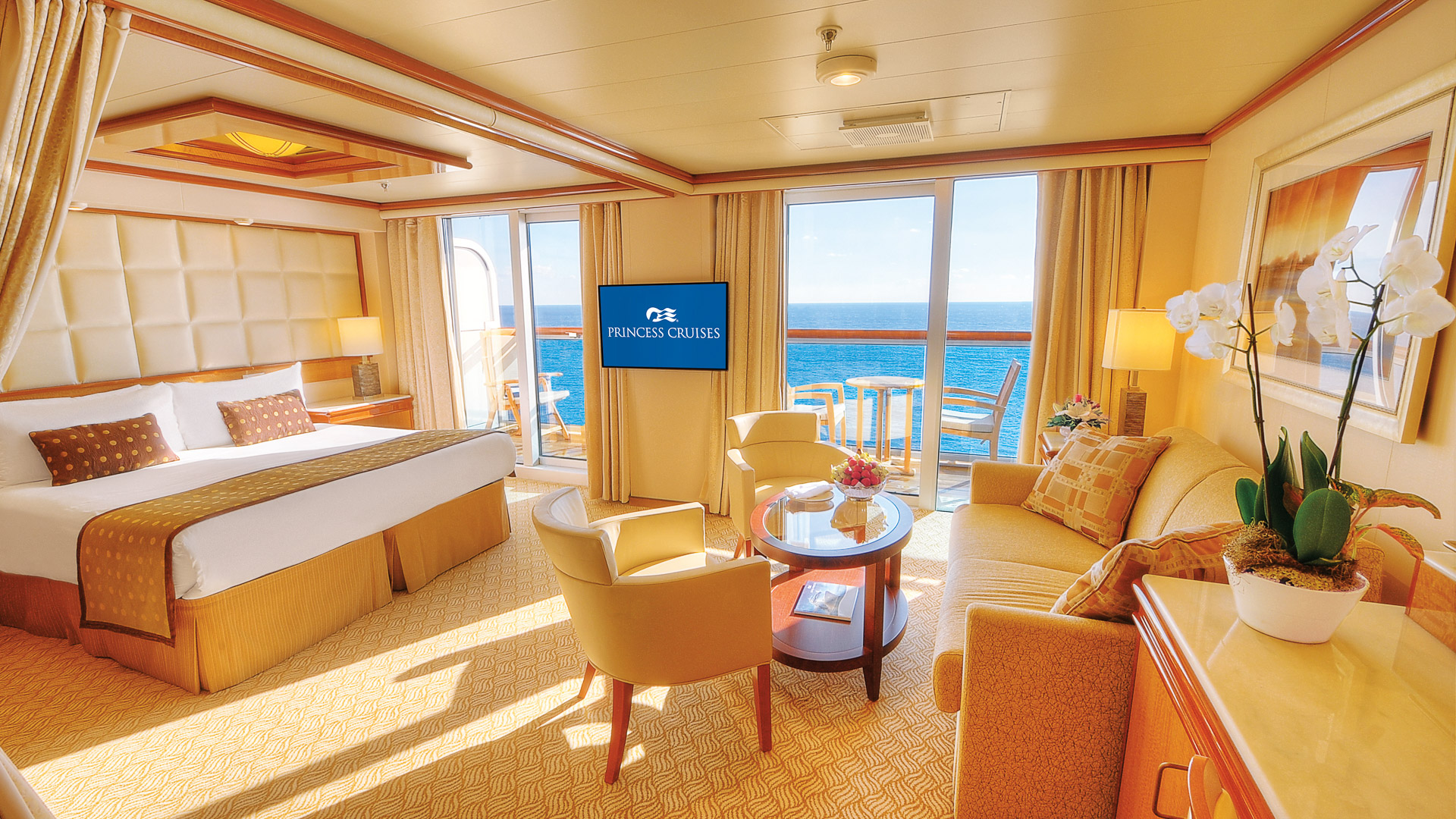 Royal/Regal Wheelchair Accessible Stateroom.