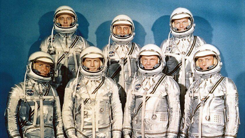 Project Mercury astronauts
