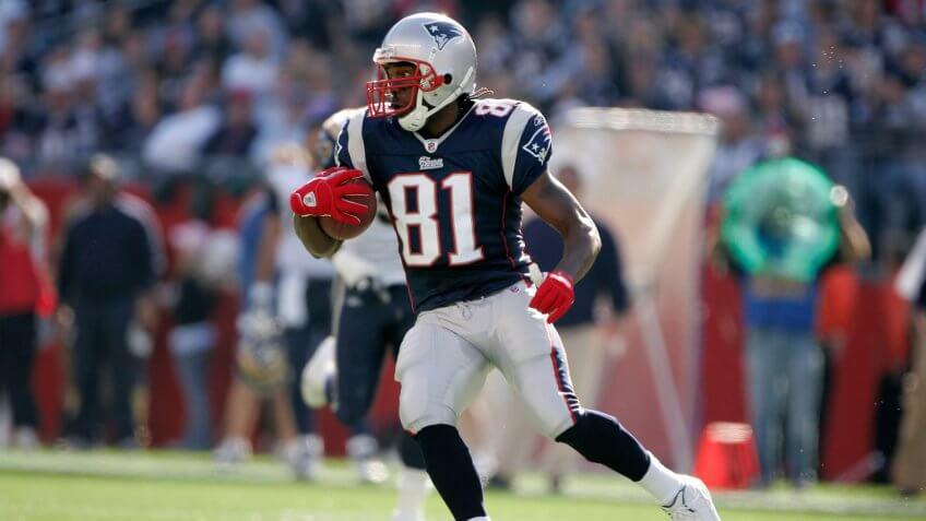Randy Moss New England Patriots highest paid athlete