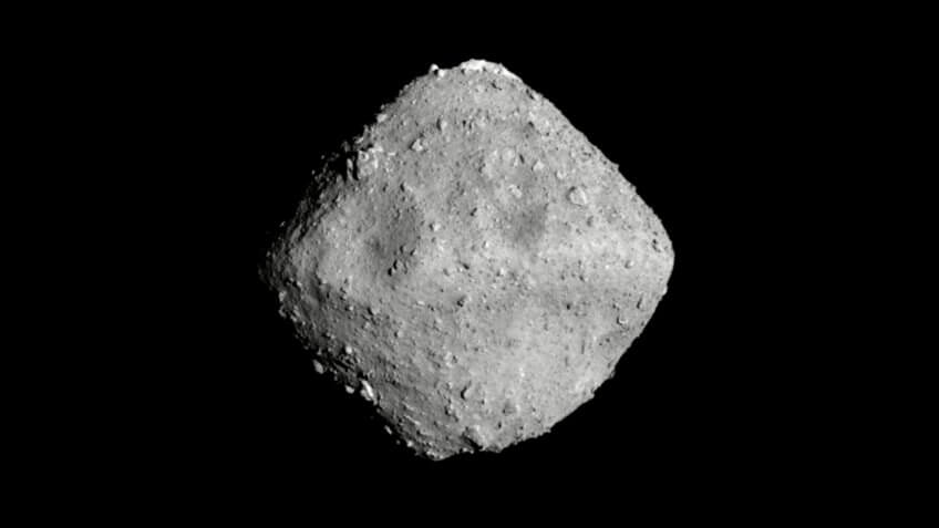 Ryugu asteroid Japan landing