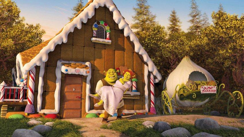Shrek 2 blockbuster movie
