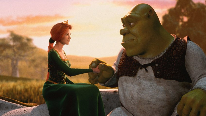 Shrek blockbuster movie