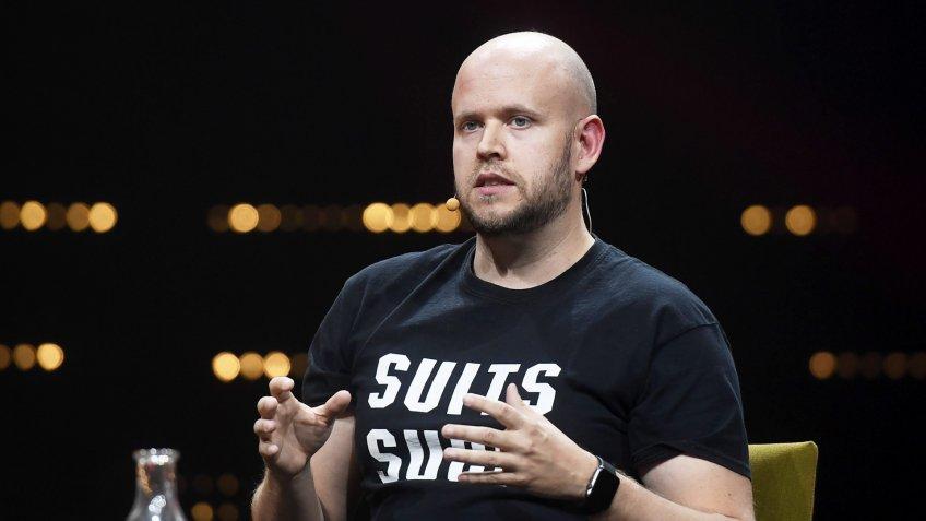 Daniel Ek CEO co-founder Spotify