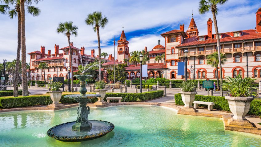 St Augustine Florida downtown