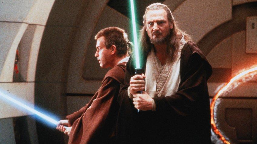 Star Wars Episode I: The Phantom Menace blockbuster movie