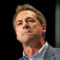 Mandatory Credit: Photo by Charlie Neibergall/AP/Shutterstock (10315504a)Democratic presidential candidate Steve Bullock speaks during the Iowa Democratic Party's Hall of Fame Celebration in Cedar Rapids, Iowa.