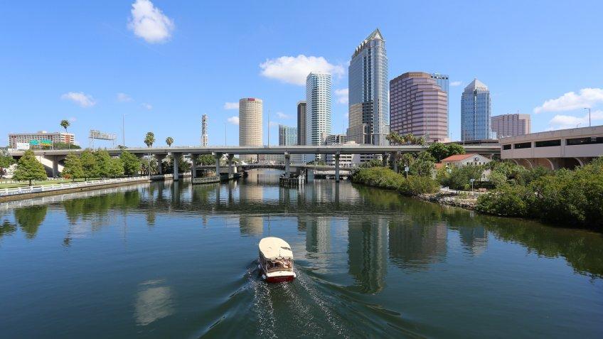 Tampa Florida River Boat