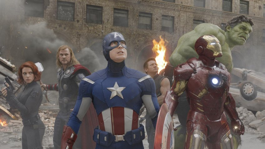 The Avengers blockbuster movie