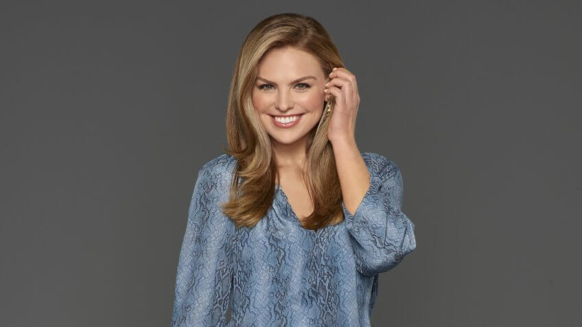 """THE BACHELORETTE - Hannah Brown caught the eye of Colton Underwood early on during the 23rd season of """"The Bachelor,"""" showing him, and all of America, what Alabama Hannah is made of - a fun country girl who is unapologetically herself."""