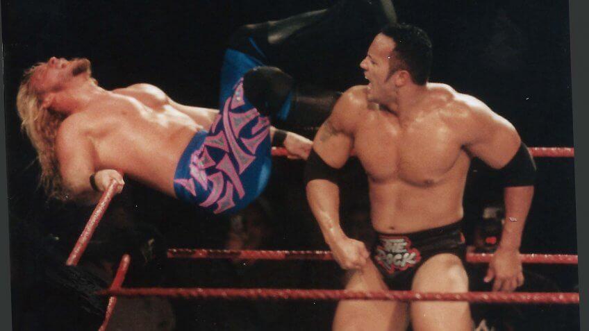 The Rock Dwayne Johnson wrestler net worth