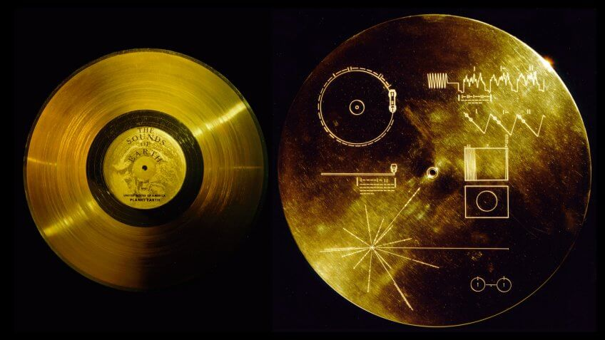 The Sounds of Earth Voyager Golden Record