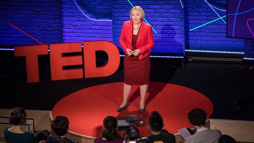 Valerie Young speaks at TED Talent Search 2017 - Ideas Search, January 26, 2017,  New York, NY.