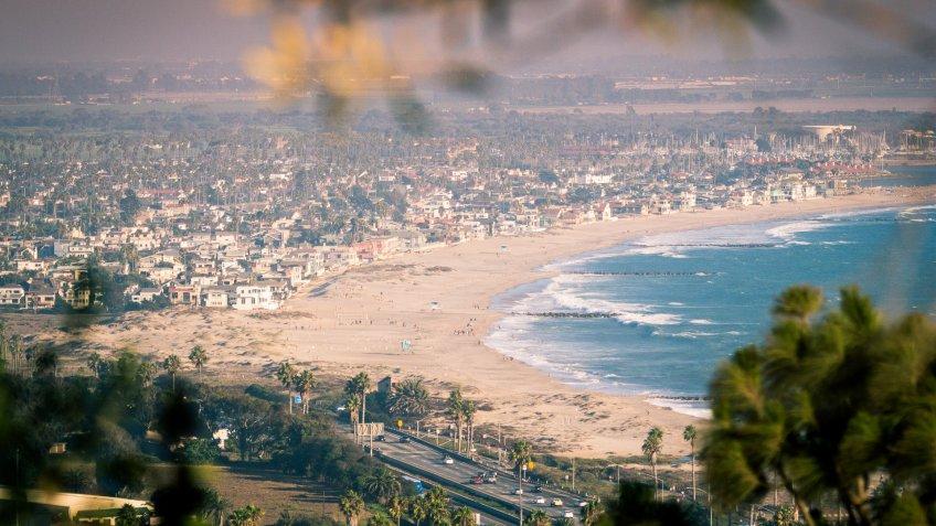 Ventura California coastline view