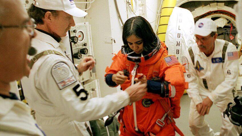 Astronaut Mission Specialist Kalpana Chawla